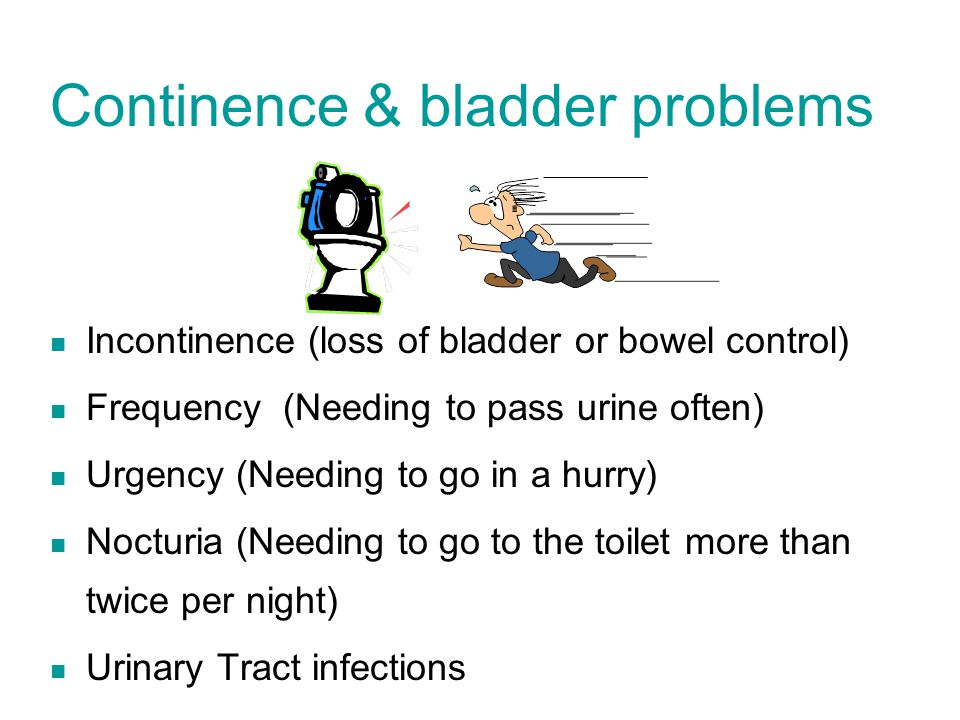 Continence & bladder problems