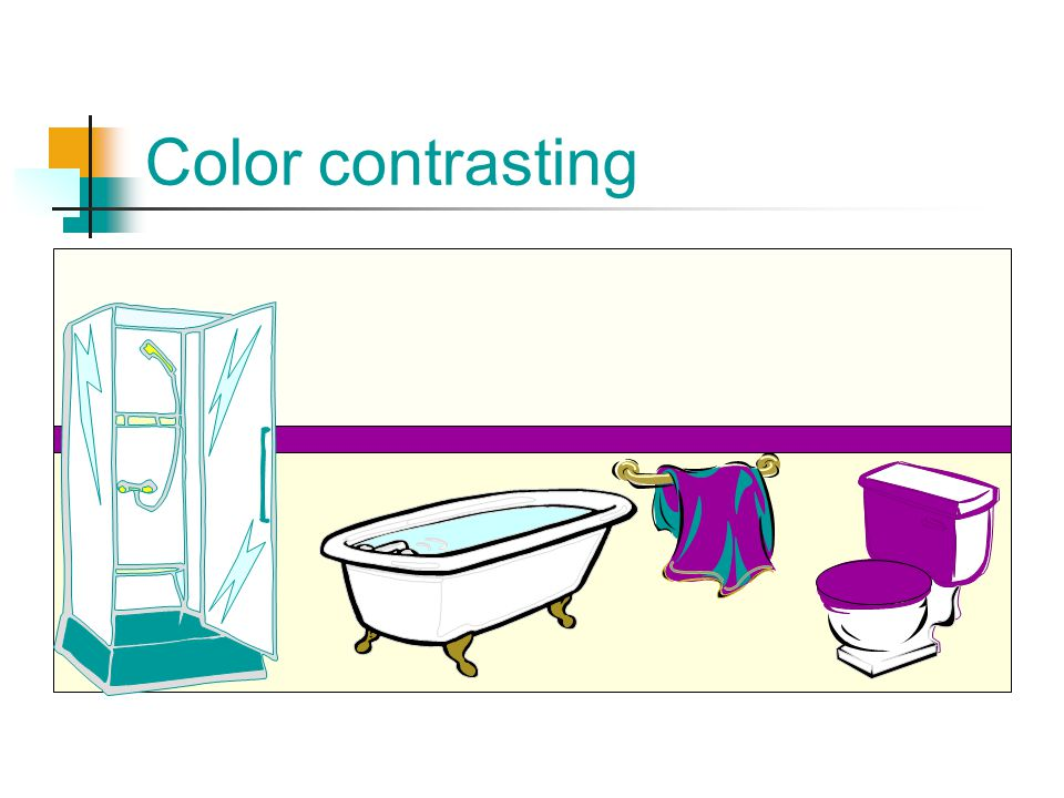 Color contrasting