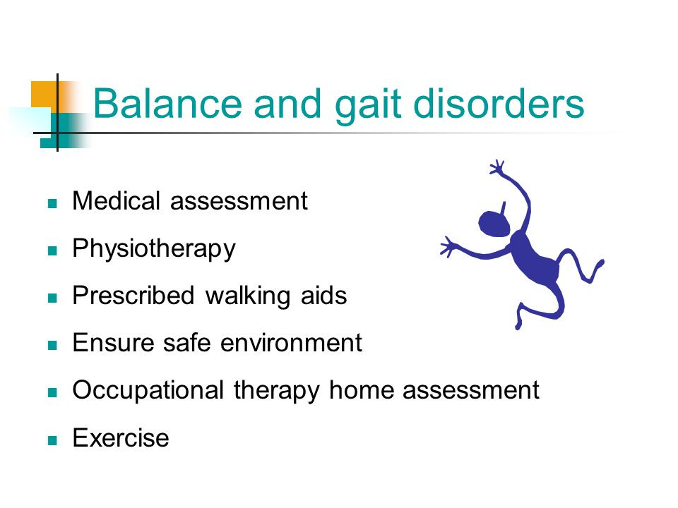 Balance and gait disorders