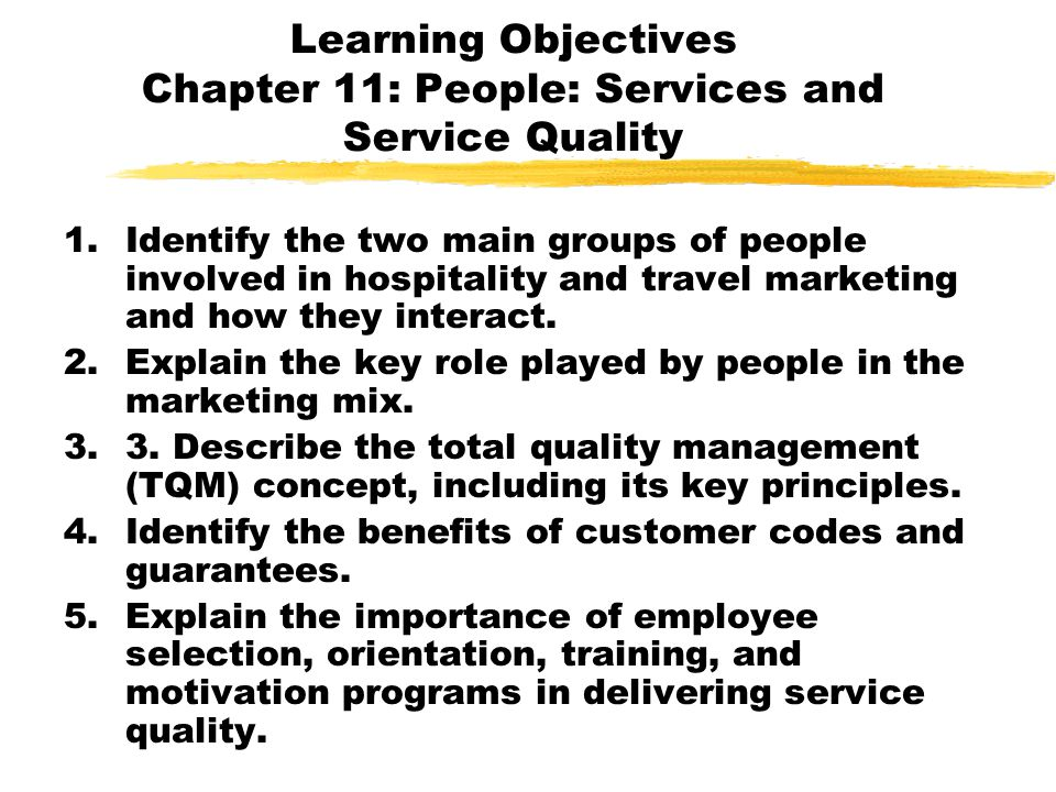 the importance of service quality
