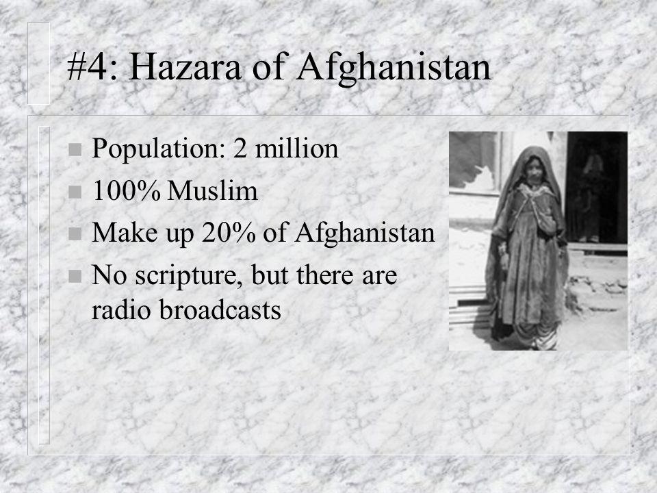 #4: Hazara of Afghanistan