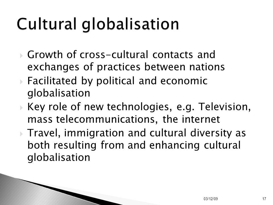 Cultural globalisation