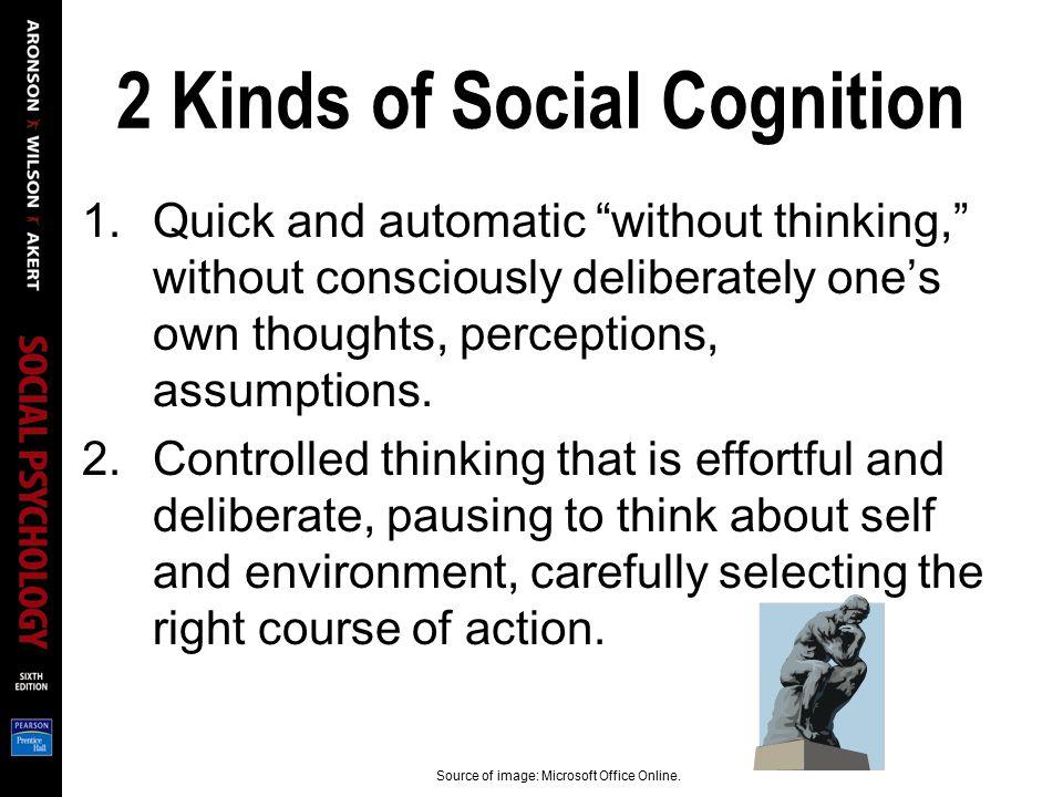 2 Kinds of Social Cognition