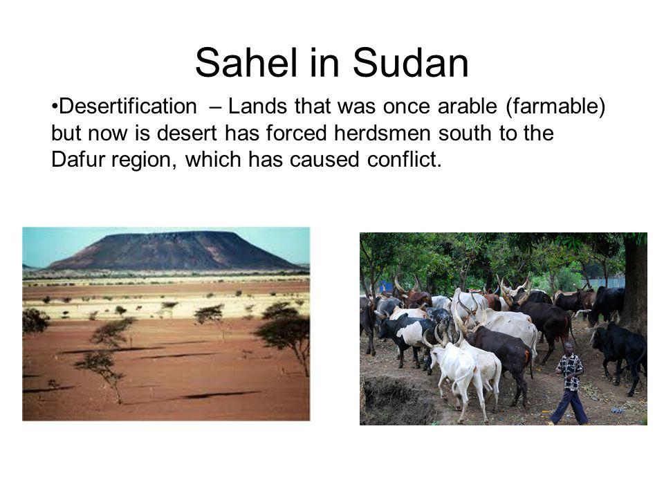 Sahel in Sudan