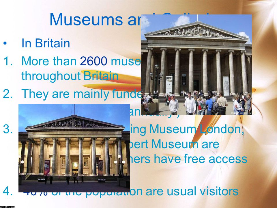 Museums and Galleries In Britain