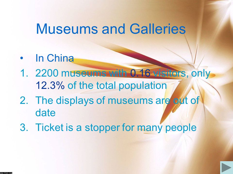 Museums and Galleries In China