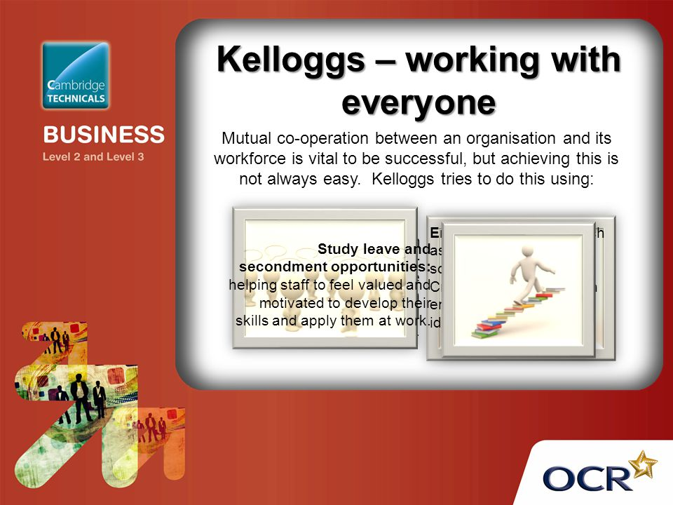 Kelloggs – working with everyone
