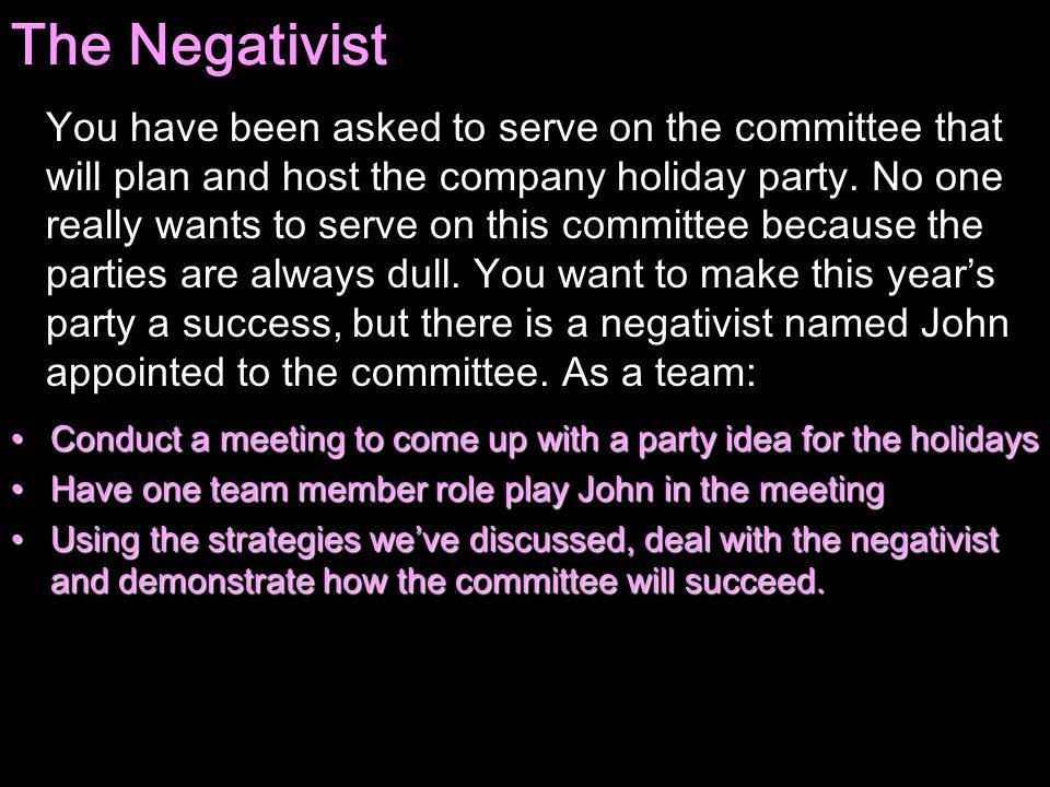 The Negativist