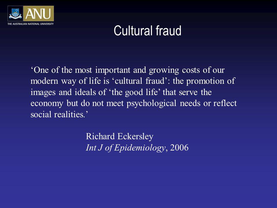 Cultural fraud