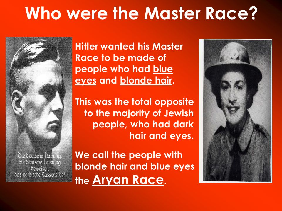 Who were the Master Race