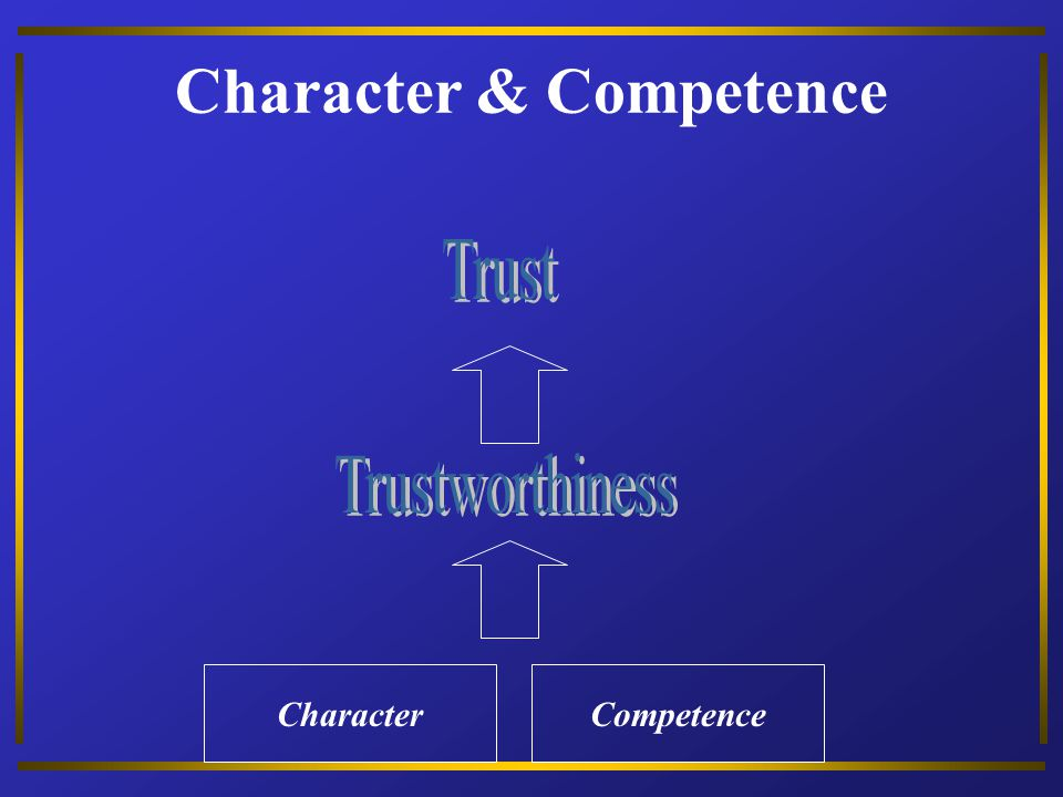 Character & Competence