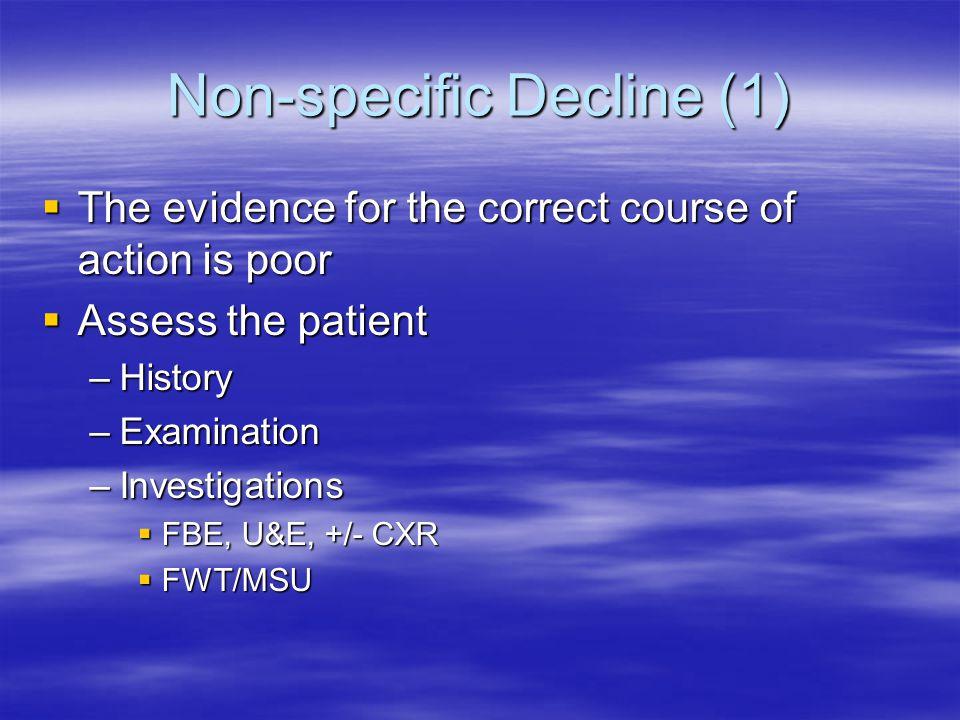 Non-specific Decline (1)