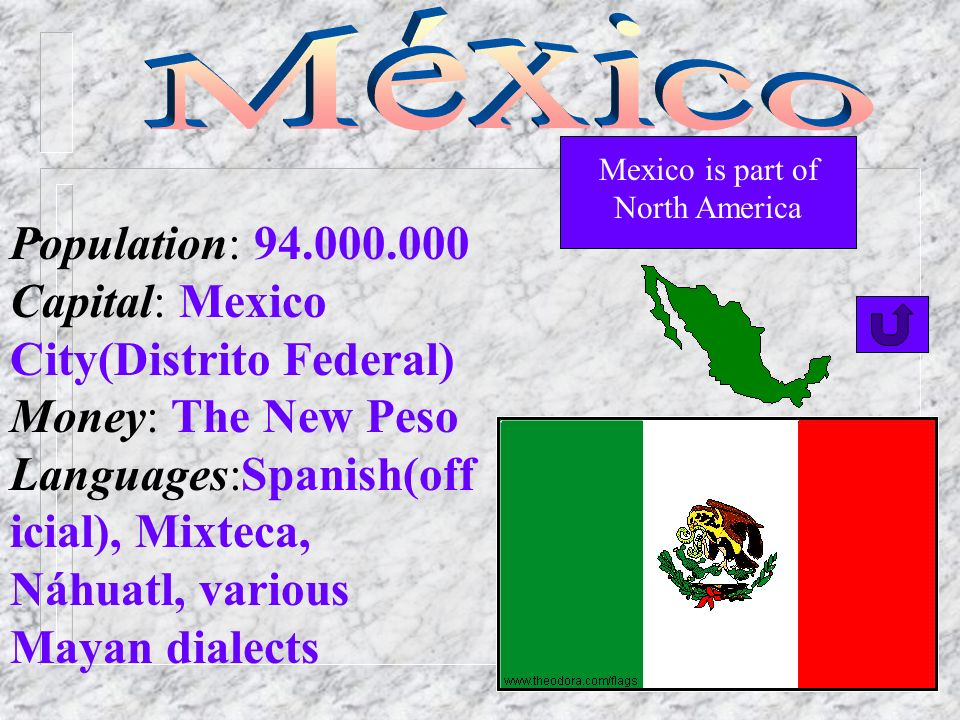 Mexico is part of North America