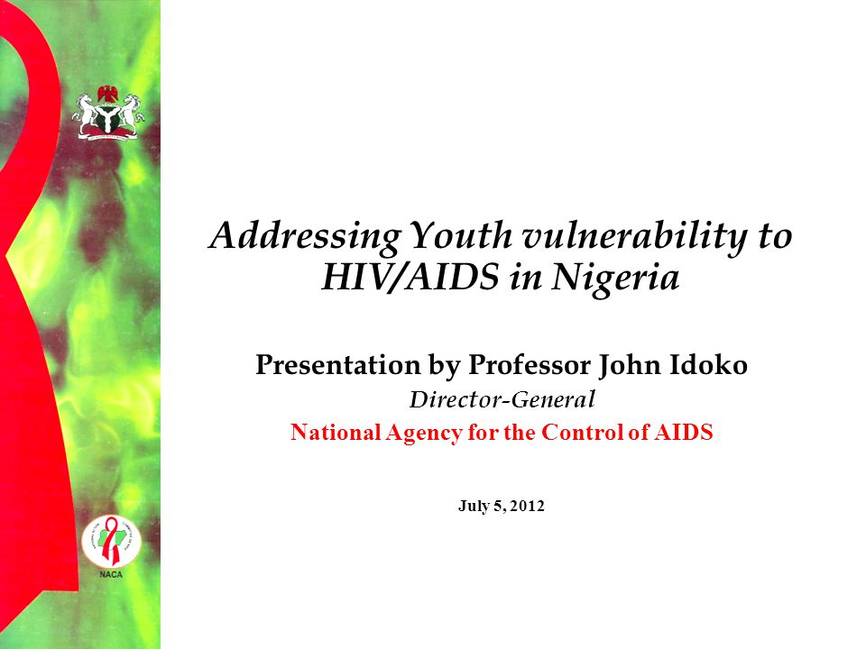 Addressing Youth vulnerability to HIV/AIDS in Nigeria