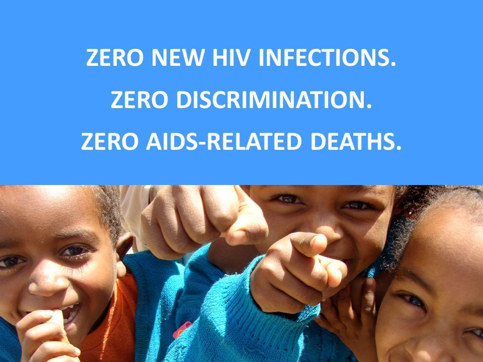 ZERO NEW HIV INFECTIONS.
