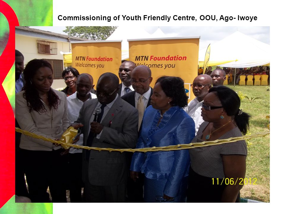 Commissioning of Youth Friendly Centre, OOU, Ago- Iwoye