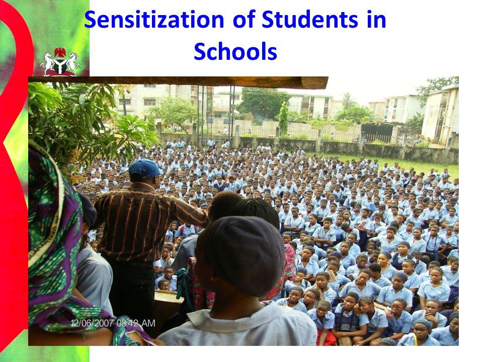 Sensitization of Students in Schools