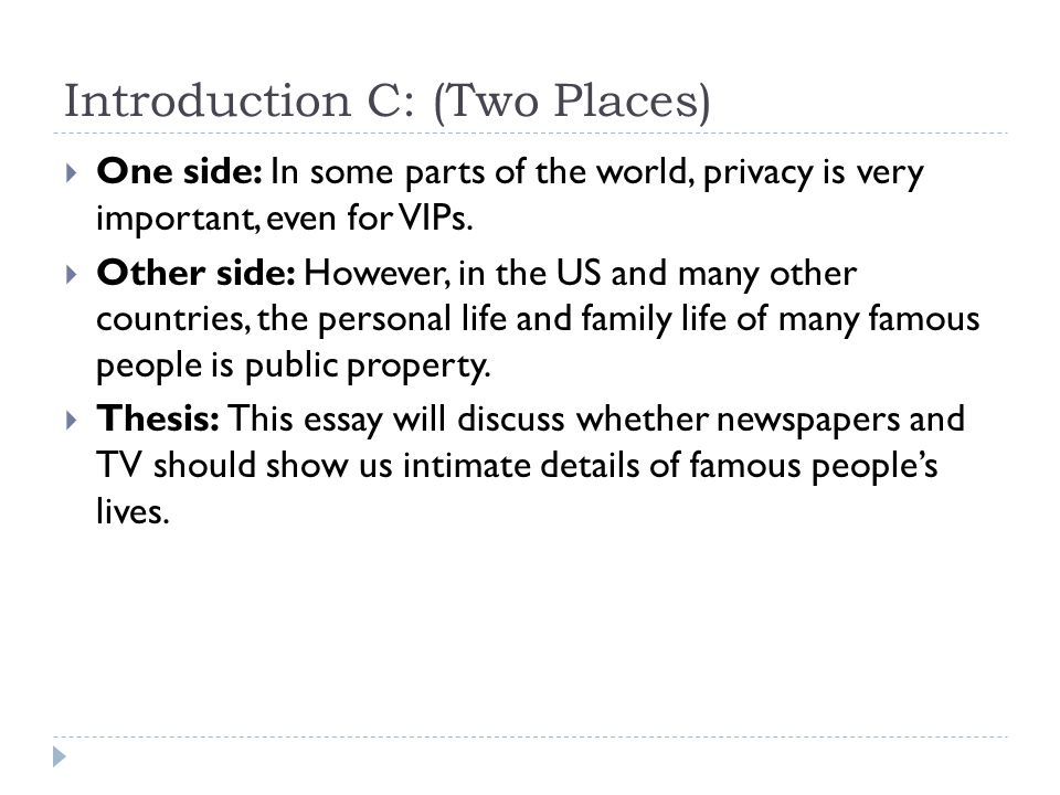 media and privacy an opinion essay ppt video online  16 introduction