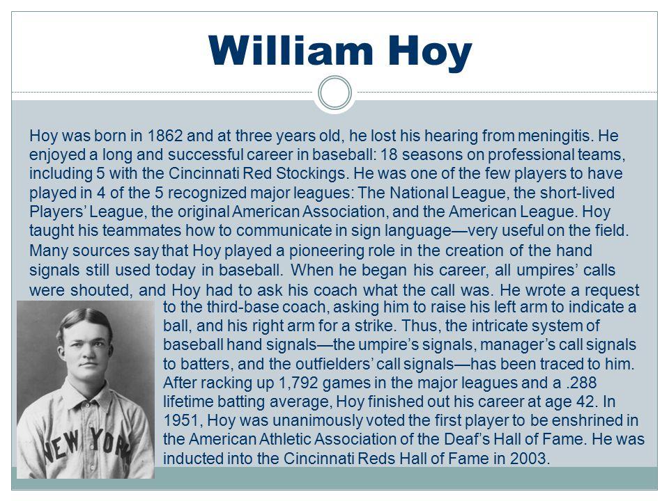 William Hoy