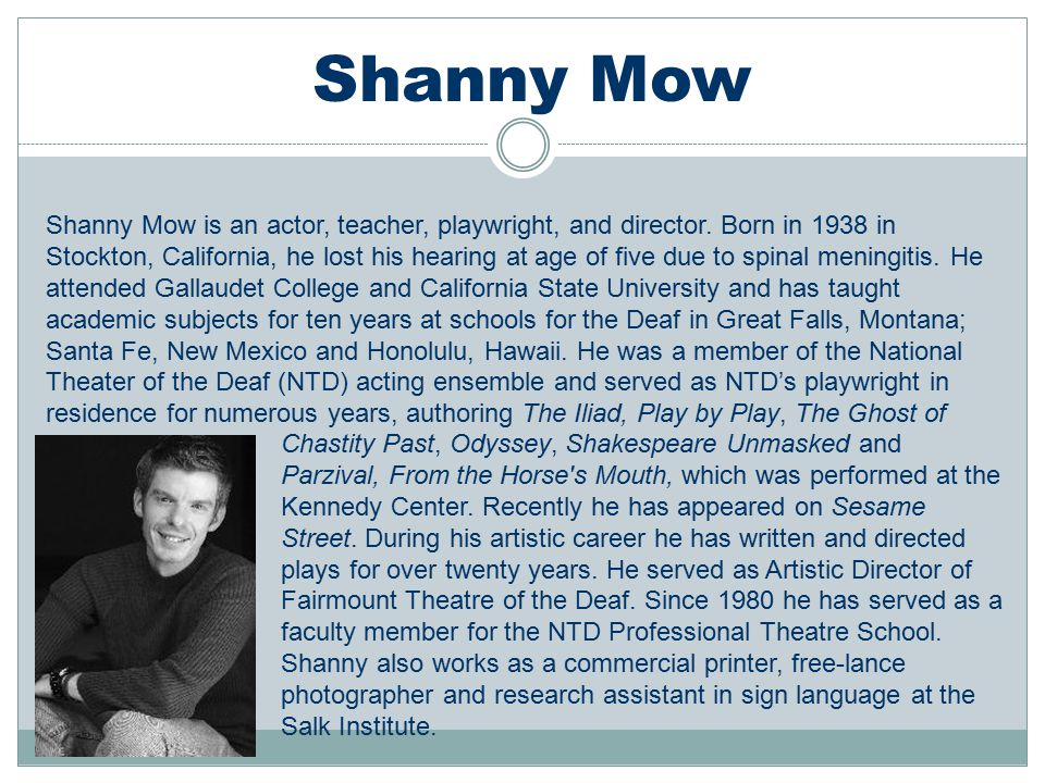 Shanny Mow