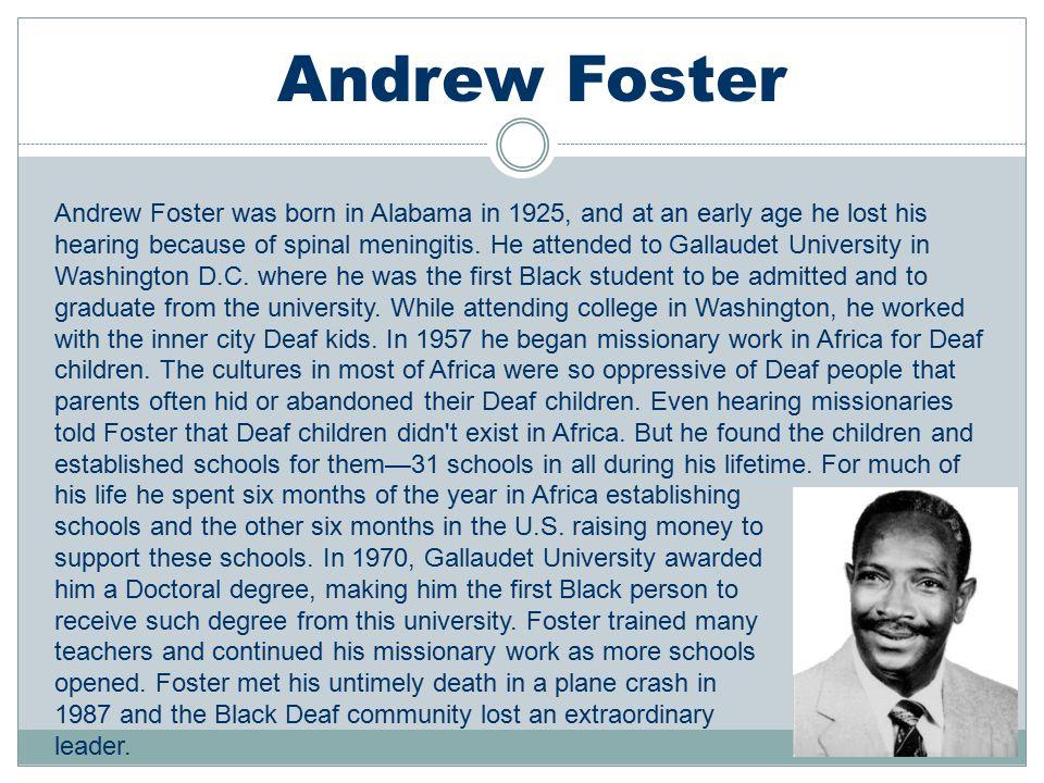 Andrew Foster