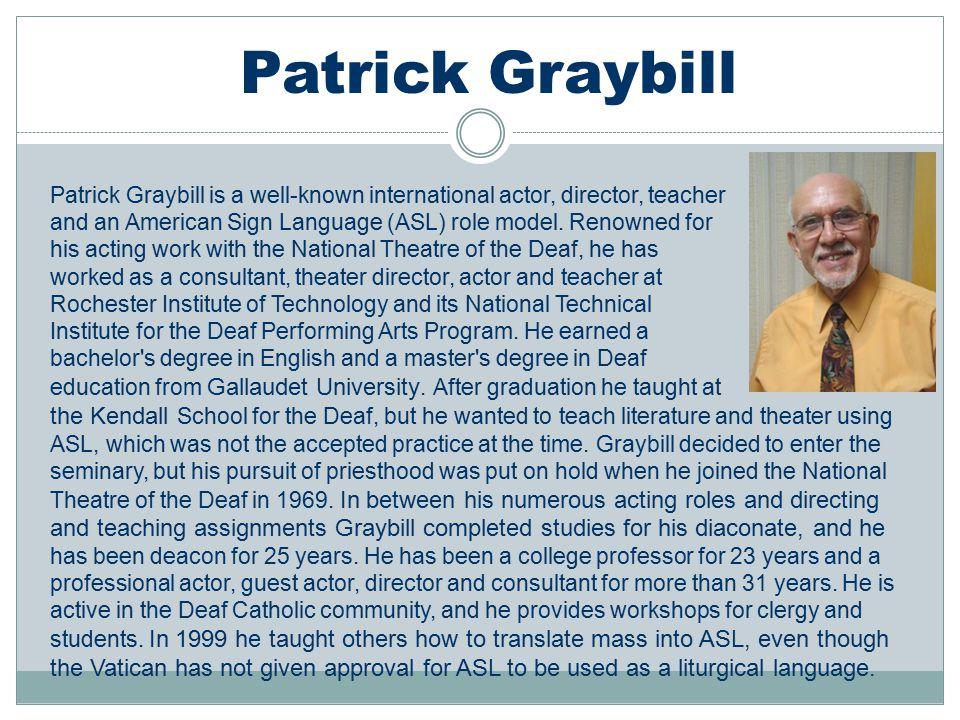 Patrick Graybill