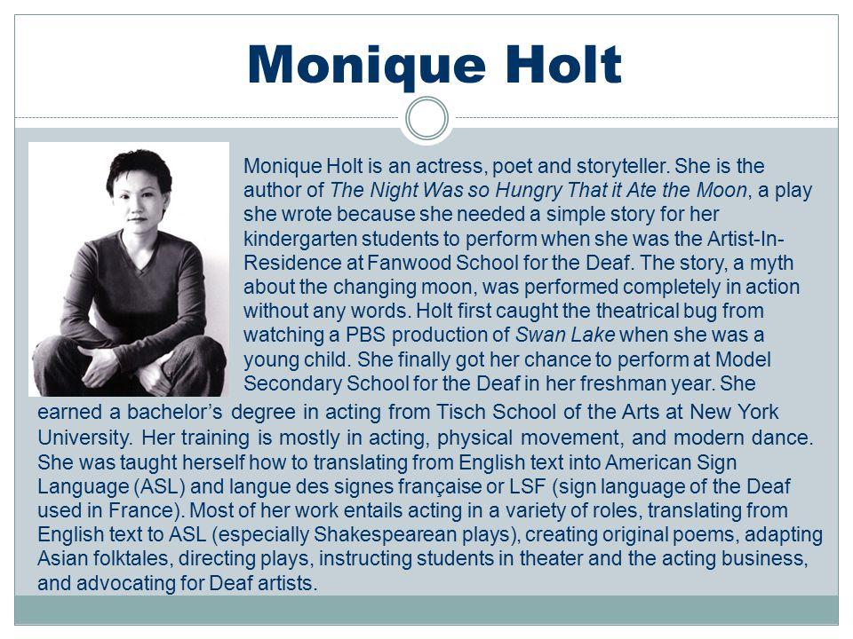 Monique Holt