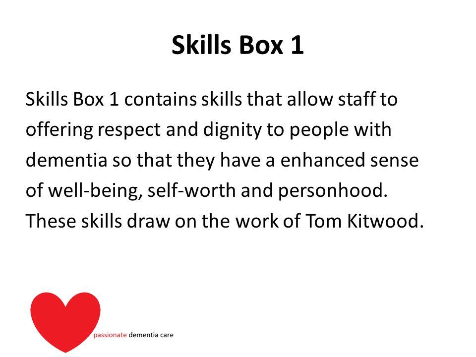 Skills Box 1
