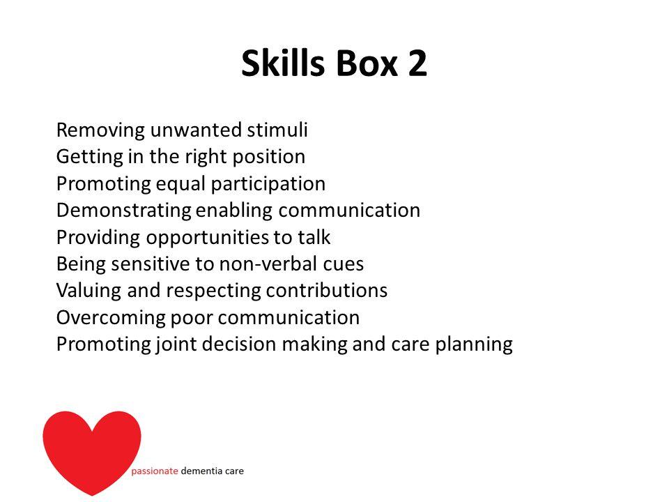 Skills Box 2