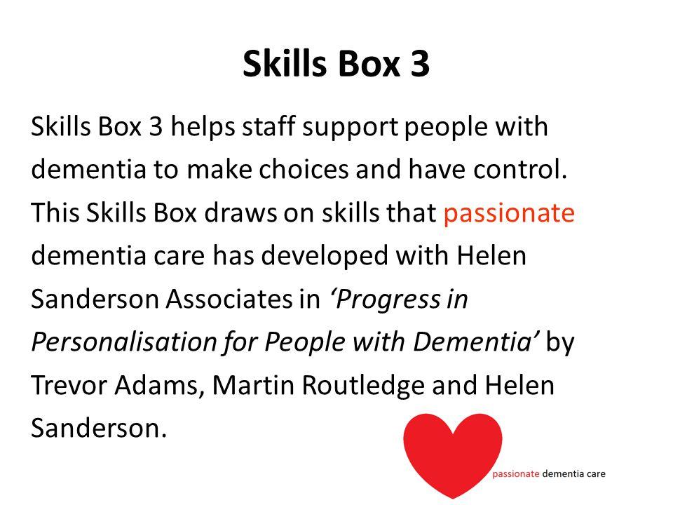 Skills Box 3