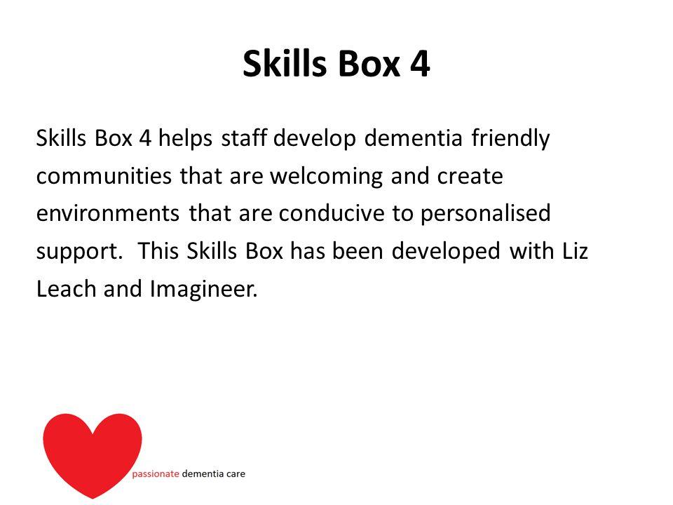 Skills Box 4