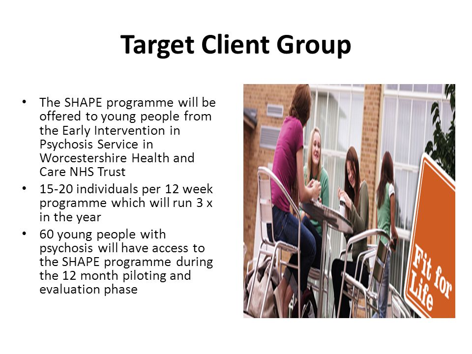 Target Client Group