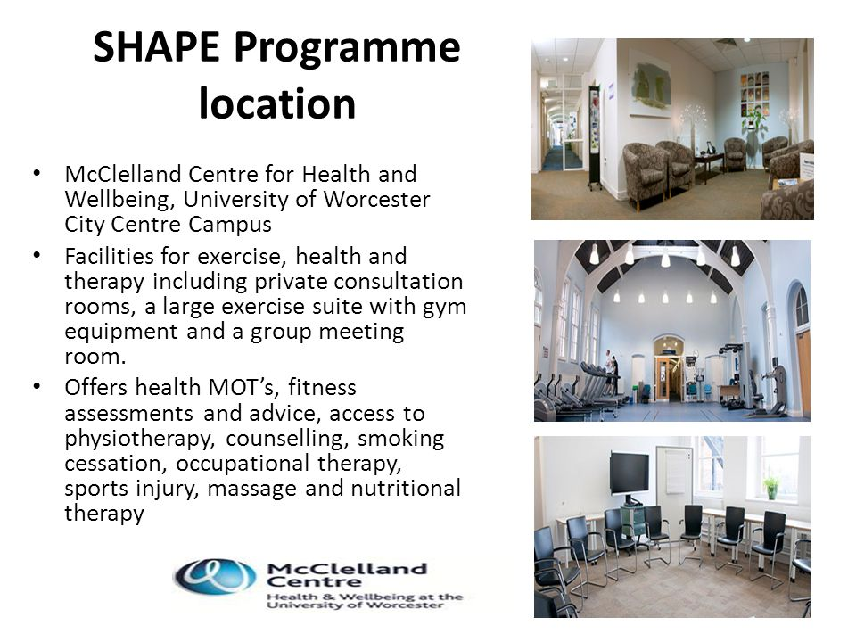 SHAPE Programme location