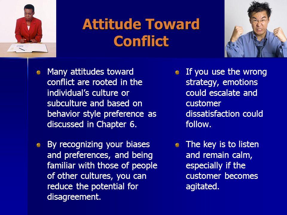 Attitude Toward Conflict