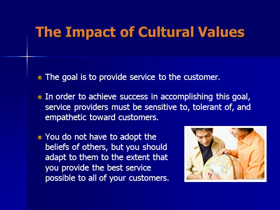 The Impact of Cultural Values