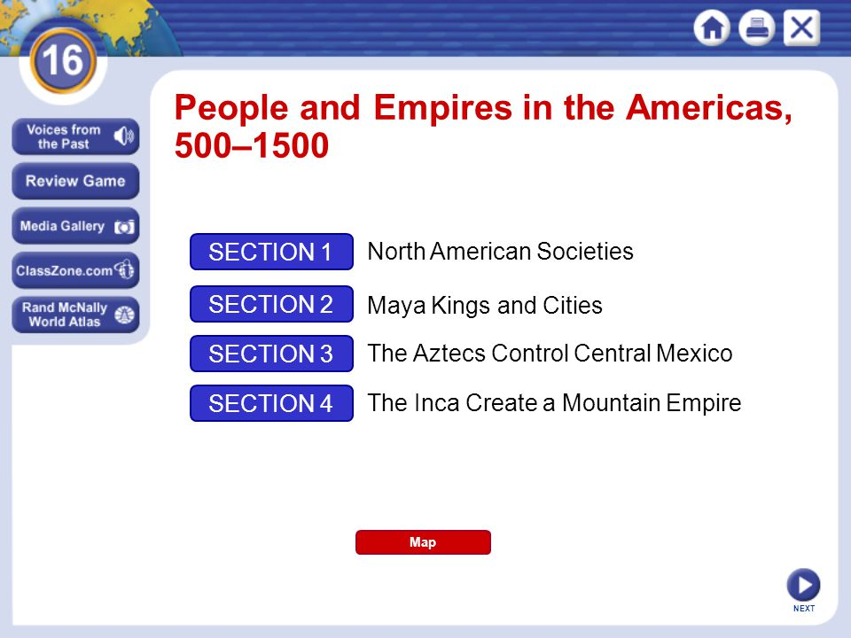 People and Empires in the Americas, 500–1500