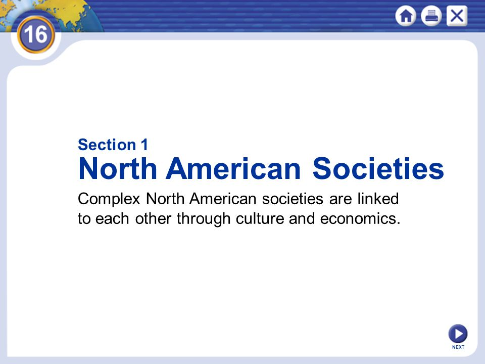 North American Societies