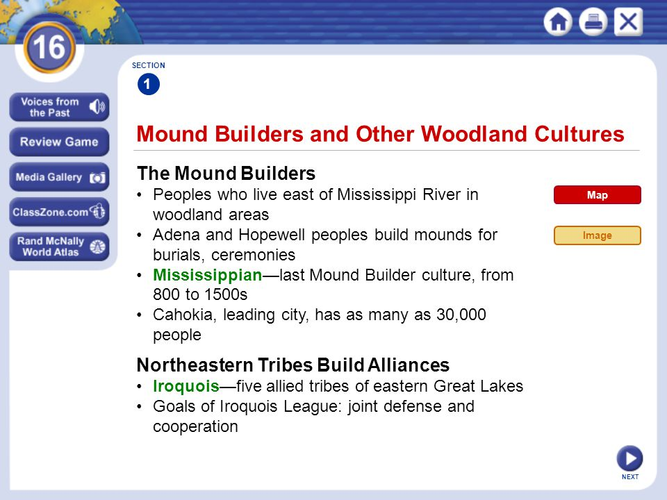 Mound Builders and Other Woodland Cultures