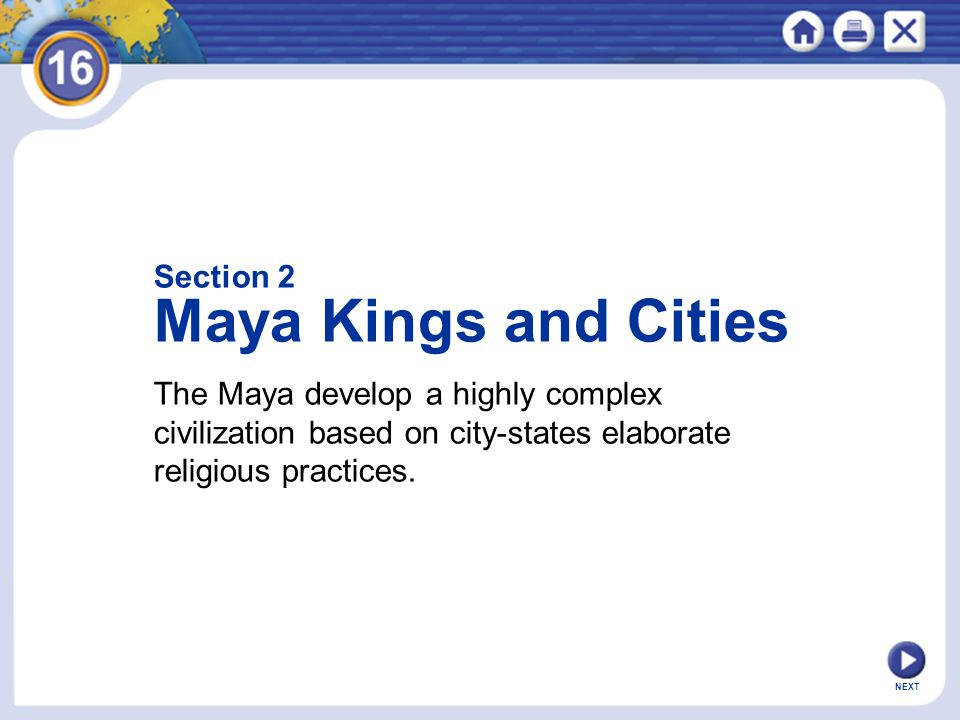 Maya Kings and Cities Section 2