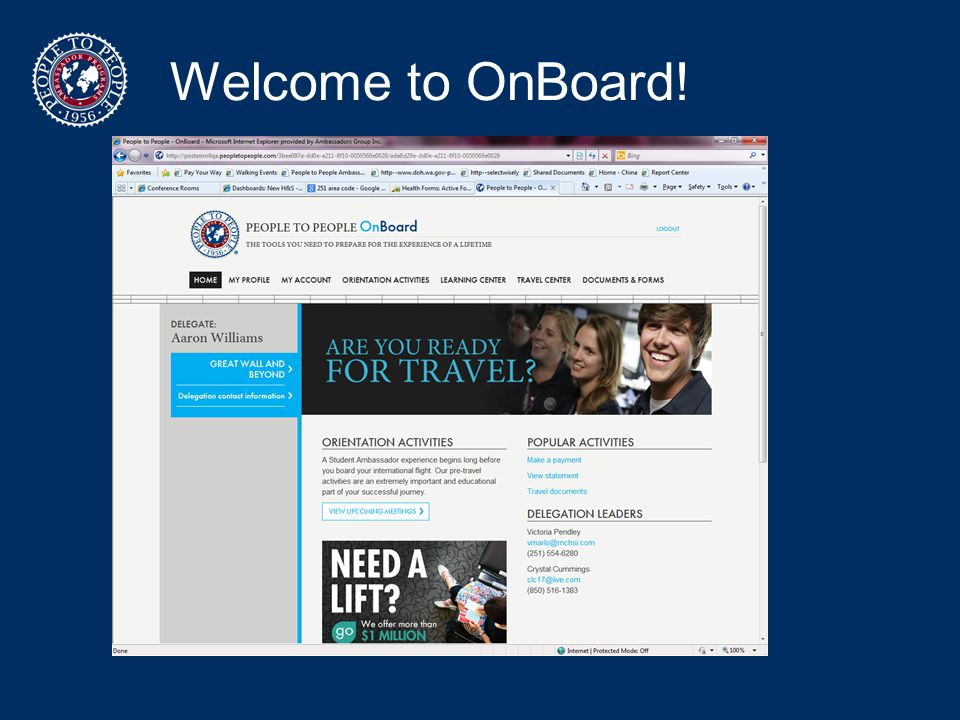 Welcome to OnBoard!