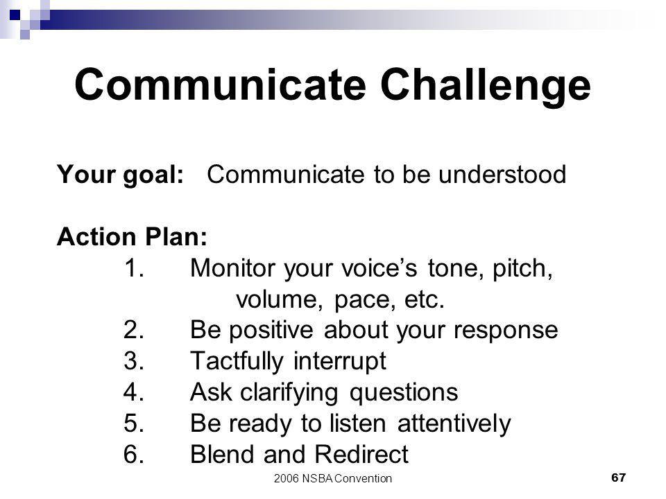 Communicate Challenge