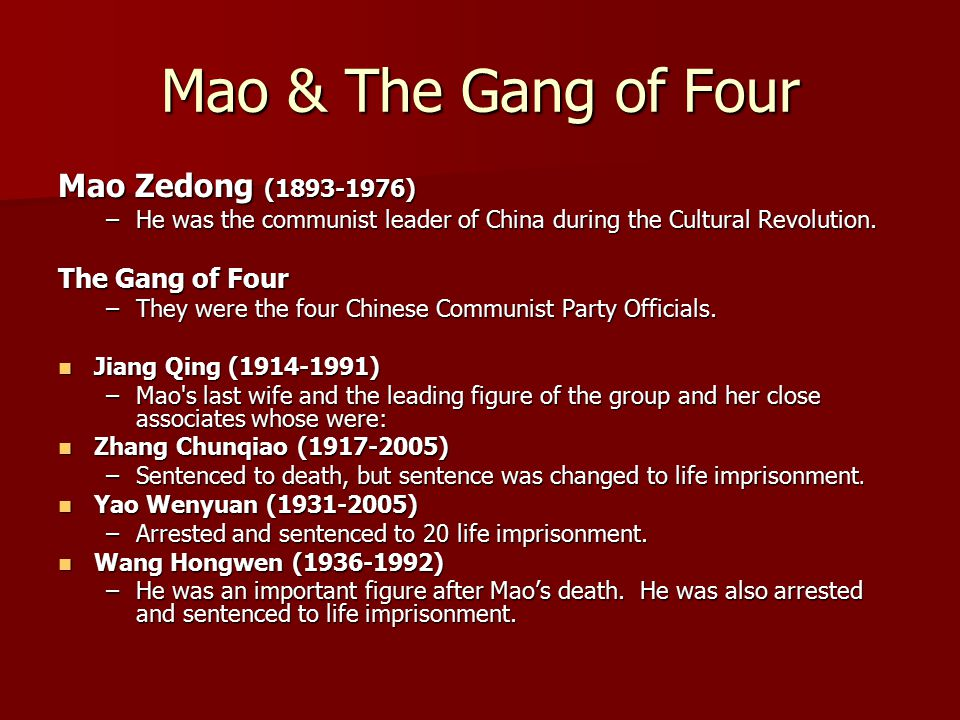 the impact of mao zedong on chinese society Mao felt china also could become an industrial and agricultural giant by  manipulating  in order for mao and his cohorts to turn china into a modern  communist society,  mao zedong proclaiming the establishment of the peoples  republic of china in 1949  globalization and the impact upon unions.