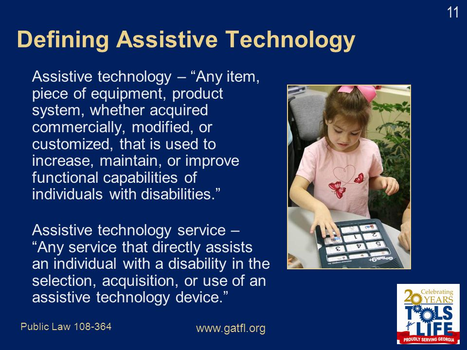 Defining Assistive Technology
