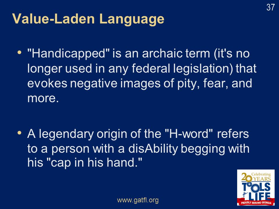 Value-Laden Language