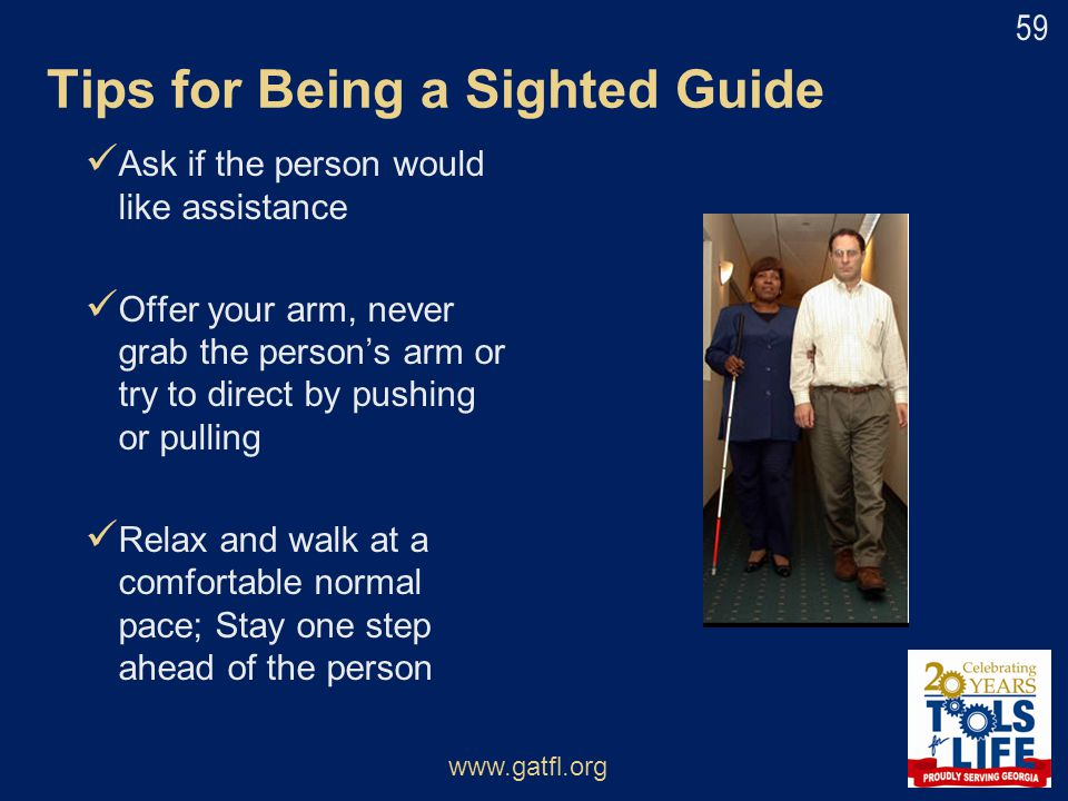 Tips for Being a Sighted Guide