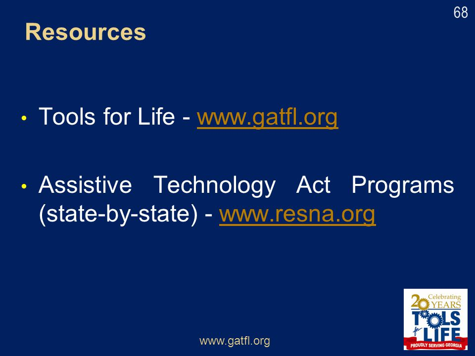Tools for Life - www.gatfl.org