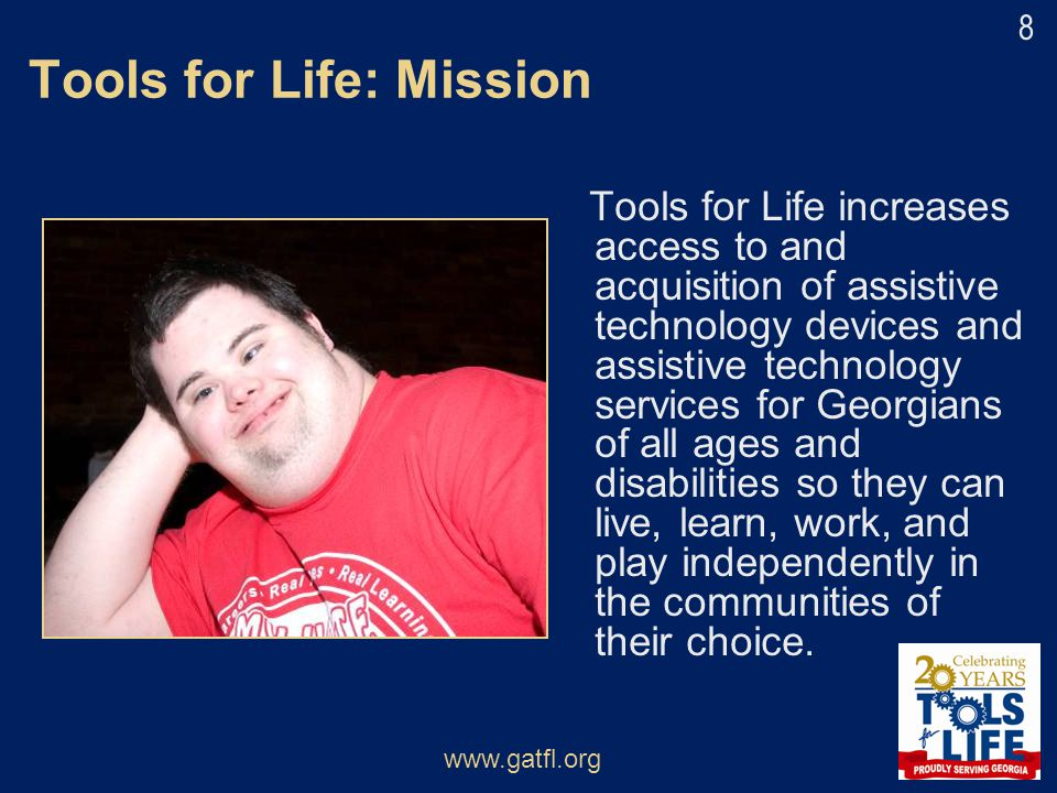 Tools for Life: Mission