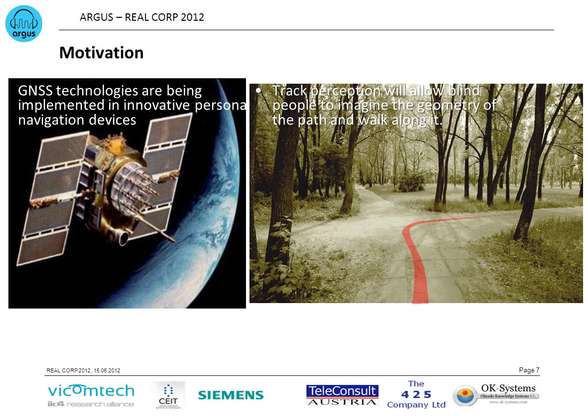 Motivation GNSS technologies are being implemented in innovative personal navigation devices.