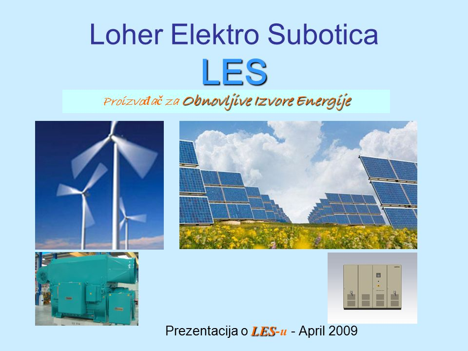 Loher Elektro Subotica LES