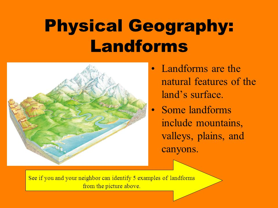 Physical Geography: Landforms